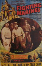 Fighting Marines - Cliffhanger Serial Movie DVD Grant Withers Adrian Morris