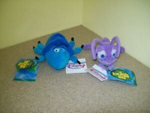 The Disney Store A Bug's Life Bean Bag Plush Characters (Lot of 2)