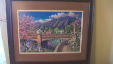 Bolder Boulder Colorado Race Framed & Matted Print by Jim Mayne Freeheart