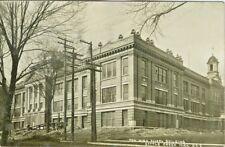 Battle Creek MI The New High School Building RPPC 1912