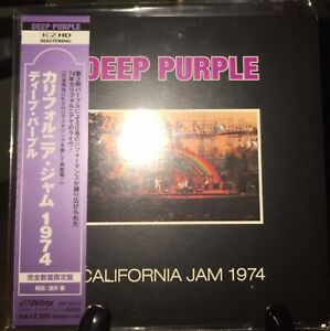 DEEP PURPLE-California Jam 1974 Japan MINI LP K2HD CD w/OBI VICP-64312 Very Rare
