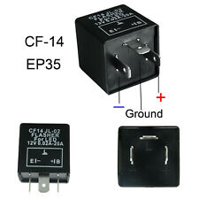 3-Pin CF14 CF-14 JL-02 EP35 LED Flasher Relay Fix For Turn Signal Hyper Flash