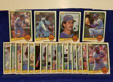 Pre-owned ~ 1983 Donruss Kansas City Royals Baseball Cards (Blue, Quisenberry
