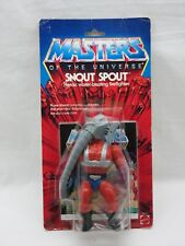 MOTU,VINTAGE,SNOUT SPOUT,Masters of the Universe,MOC,carded,sealed,He-Man
