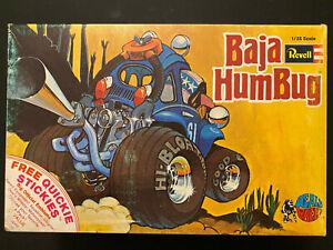 Revell Deals Wheels Original 1971 BAJA HUMBUG Complete w/ decals and directions