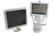 60 LED Outdoor Garden Solar Power Motion Sensor Security Light - White