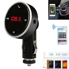 Wireless Bluetooth LCD FM Transmitter Modulator MP3 Player Car Kit SD MMC USB