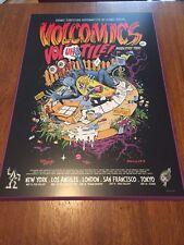 VoLcOm Volcomics Featured Artist Jimbo Phil Art Print Poster Mount Frame NEW