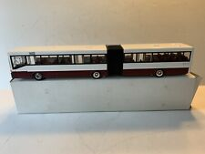 NZG CONRAD MERCEDES BENZ ARTICULATED BUS WHITE/MAROON