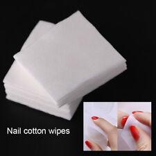 100Pcs/Bag Lint-Free White Nail Polish Remover Cottons Nail Art Soft Wipes Tool