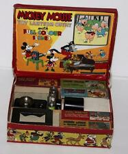 "RARE""COMPLETE""BOXED SET:DISNEY1930's""MICKEY MOUSE""MAGIC  LANTERN""BY ENSIGN+MORE"