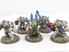 DEATHWING TERMINATORS  Painted OOP Warhammer 40k Space Marine Dark Angels Army