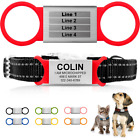 Custom Slide On Dog ID Tag Engraved Personalized Name Pet Tag for Collar