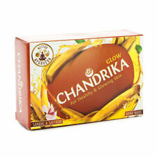 10 X CHANDRIKA sandal SOAP 75GRAMS FROM INDIA (100% GENUINE AND ORIGINAL)