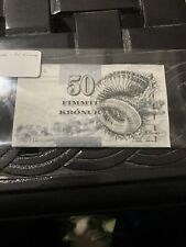 Faeroe Faroe Islands 50 Kronur, 2001, P-24, banknote, UNC