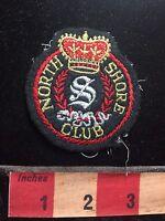 Vtg NORTH SHORE CLUB Patch - Pretty Fancy Looking S76Q