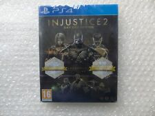 Injustice 2 PS4 Legendary Steelbook Edition, DLC 10 Fighters Collectors Coin PS4