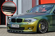 Frontspoiler aus ABS passend für BMW 1er E82 E88 LCI mit ABE schwarz glanz