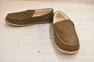 Minnetonka Tilden Moc 41007 Slippers, Men's Size 12M, Autumn Brown NEW