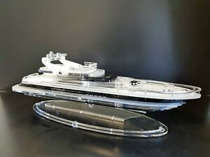 Luxury Modern Yacht Model Decorative yacht  Yacht club gift  Nautical gift