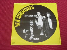 "New Adventures: New Adventures 1979 Netherlands  7""  Near Mint   powerpop"