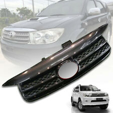 FRONT BLACK CARBON GRILL GRILLE FIT FOR TOYOTA FORTUNER SUV 2009 2010 2011