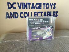 1986 Hasbro Transformers Triple Changer OCTANE G1 Original AFA 80/85/90 SEALED!!
