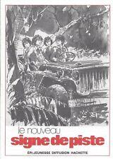 Encart catalogue Nouveau Signe de piste DT67 Joubert Gourlier Scout Alsatia EPI