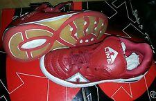 Scarpe calcio football 5 calcetto bimbo a-line junior colore rosso misura 35 538243b5211