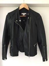 H&M faux leather jacket - Size 34