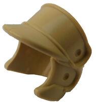 Lego 2 Stück Helm in beige (tan) Hoth Rebel Trooper 87555 Star Wars Helme Neu