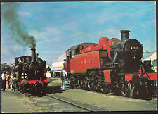 Railway Transport Postcard - L.M.S 2-6-2T Class 2MT No.41241 at Shildon   A7950