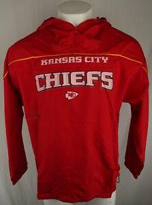 Kansas City Chiefs NFL Reebok Men's Quarter-Zip Windbreaker
