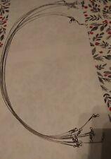 """9 Stainless Steel Wire Spinner Leaders 24"""" - New, Unused"""