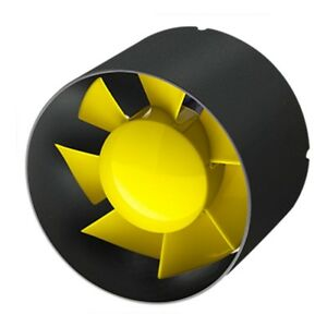 HighPro Inline Duct Fan - Low Noise Intake Fan - 4, 5, And 6 Inch Available
