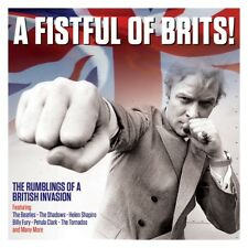A FISTFUL OF BRITS! - (Various Artists) 2CD
