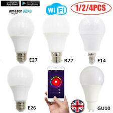 Wireless WiFi App Remote Control Light Smart Bulb for Alexa Google Home B22 E26~