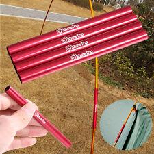 4Pcs/Lot Aluminium Alloy Tent Pole Spare Repair Tube End Plug For Dia 7.9-8.5mm