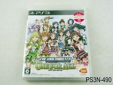 New The Idolmaster One For All  Playstation 3 Japanese Import PS3 Idolm@ster