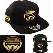 Star Wars Rogue One Trooper New Era Snapback Hat Metallic Gold Character Cap