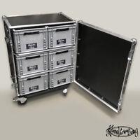 Case für Kisten 400x300x220 Eurokiste Eurobox Universalcase Flightcase Auerbox