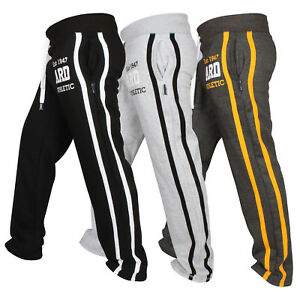 Mens-Fleece-Joggers-Trousers-Cotton-Track-Suit-Bottom-Jogging-Boxin