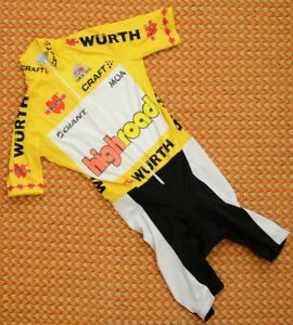 Highroad, short sleeve Cycling, bike skinsuit by Craft,Tour de Suisse Mens Small