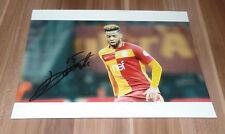 Ryan Donk FC Bruges, Galatasaray, Original Signed Photo 20x25 cm (8x10)