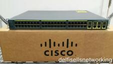 Cisco Ws-C2960G-48Tc-L Catalyst 48-Port Gigabit Switch