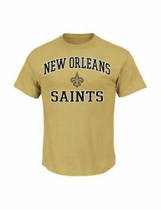 New Orleans Saints Majestic Shirt Men's XL nwt Free Ship