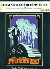 DUKE ELLINGTON-I LET A SONG GO OUT OF MY HEART-PIANO/V/CHORDS SHEET MUSIC 1938!!