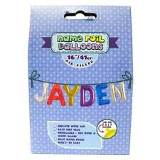 Royal County Products Name Foil Balloons - Jayden - New