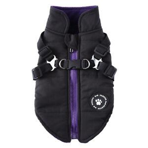 Winter Warm Fleece Small Pet Dog Jackets Vest Puppy Cat Harness Coat Costume New