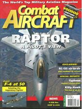COMBAT AIRCRAFT V9 N4 McD F-101 VOODOO USAF ANG RCAF CANADAIR CF-101 / F-4 PHANT